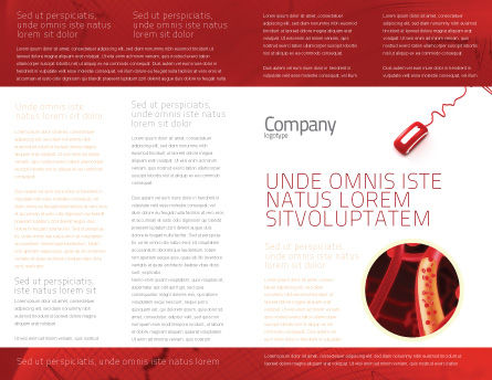 Modello Brochure - Impulso computer, Pagina Interna, 02809, Medico — PoweredTemplate.com