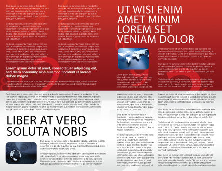Jumper Brochure Template, Inner Page, 02823, Technology, Science & Computers — PoweredTemplate.com