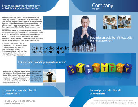 Business Strategy Education Brochure Template Design and Layout ...