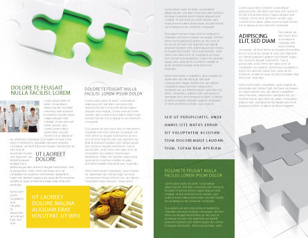 Part of the Whole Brochure Template, Inner Page, 02930, Business Concepts — PoweredTemplate.com