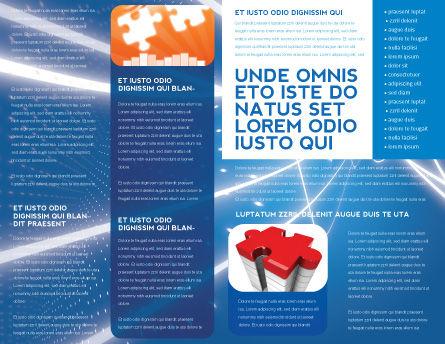 Jigsaw World Brochure Template Inner Page