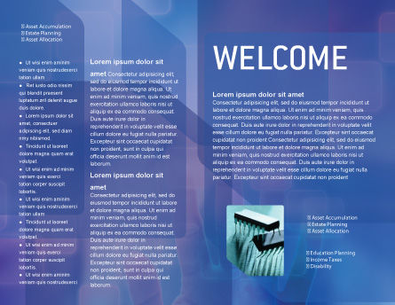 Interactive Brochure Template, Inner Page, 02946, Technology, Science & Computers — PoweredTemplate.com