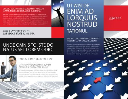 Private Opinion Brochure Template, Outer Page, 02965, Business Concepts — PoweredTemplate.com