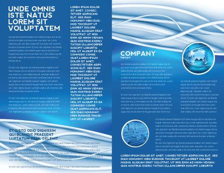 Art Design Brochure Template, Inner Page, 03016, Telecommunication — PoweredTemplate.com