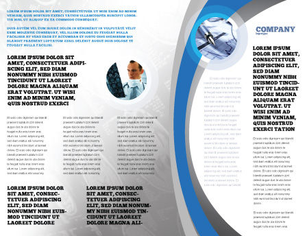 Tomography Machine Brochure Template, Inner Page, 03151, Medical — PoweredTemplate.com