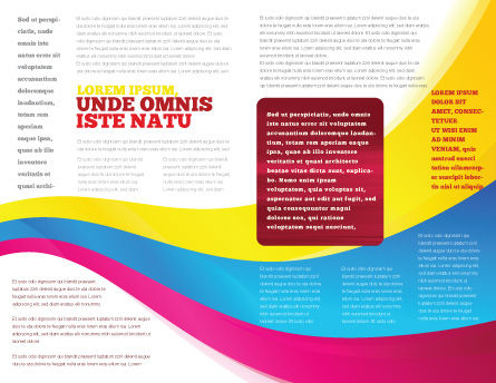 United Nations Brochure Template Inner Page