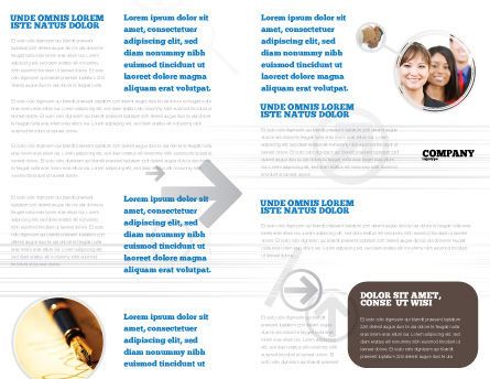 Contract Brochure Template Inner Page