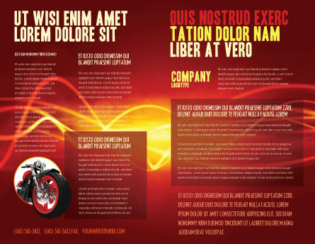 Bike Brochure Template Inner Page