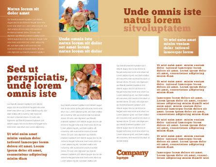 Children's Surprise Brochure Template Inner Page