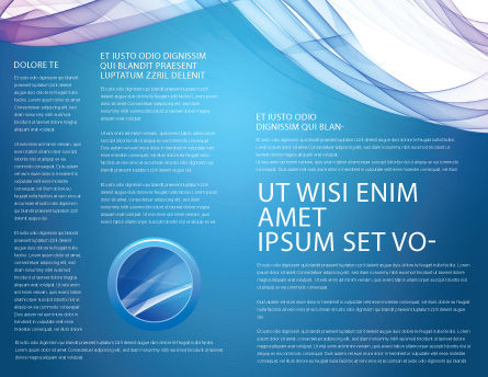Blue Veil Brochure Template#3