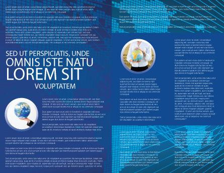 Worldwide Brochure Template Inner Page