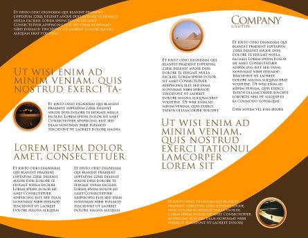 Genie Lamp Brochure Template, Inner Page, 03289, Art & Entertainment — PoweredTemplate.com