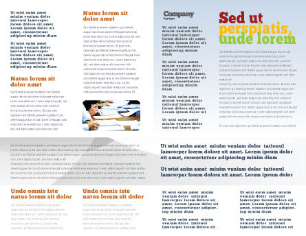 Document Filing Brochure Template Inner Page