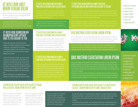 Green Dollar Breeding Brochure Template Inner Page