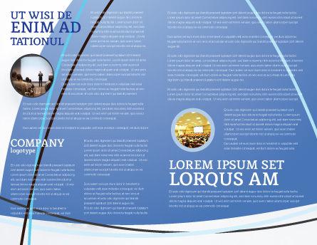 Public Presentation Brochure Template Inner Page