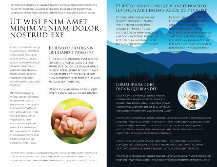 Starting Point Brochure Template Inner Page