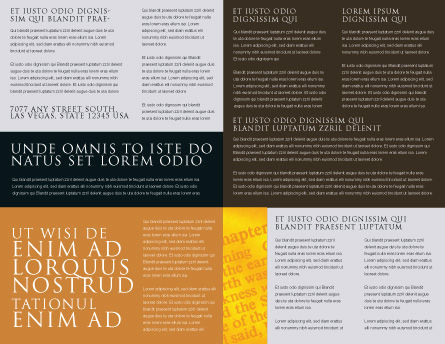 Christianity Brochure Template, Inner Page, 03436, Religious/Spiritual — PoweredTemplate.com