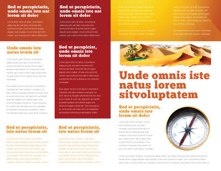Oasis Brochure Template, Inner Page, 03452, Nature & Environment — PoweredTemplate.com