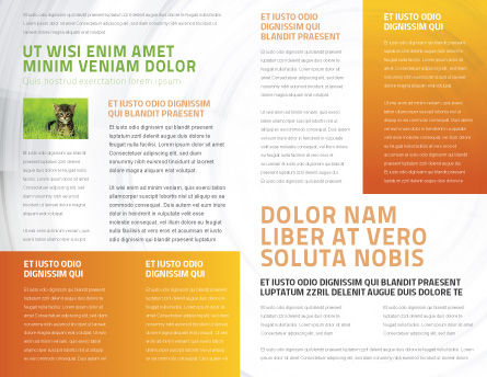 Kitten Brochure Template, Inner Page, 03459, Agriculture and Animals — PoweredTemplate.com