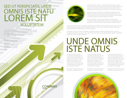 Rising Brochure Template Inner Page