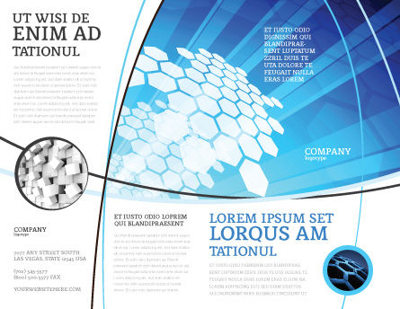Fragments Brochure Template Outer Page