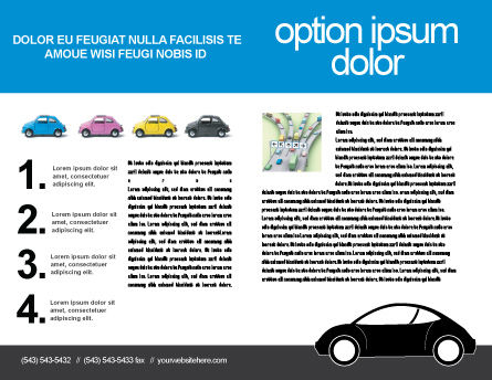 Minicars Brochure Template Inner Page
