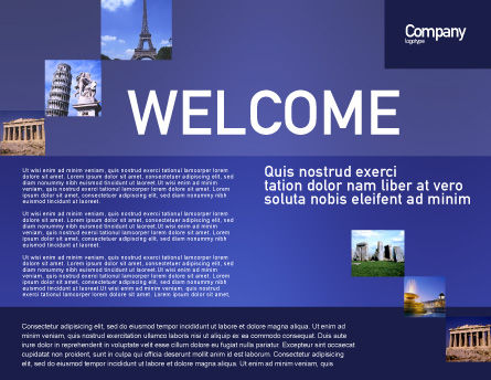 European Union Sign Brochure Template Inner Page