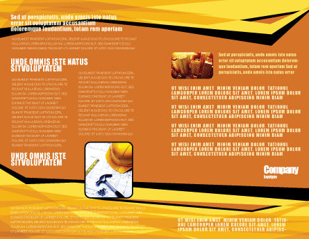 Builders Brochure Template Inner Page