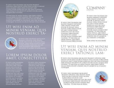 Street Drawings Brochure Template Inner Page