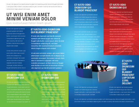 Business Evaluation Brochure Template Inner Page