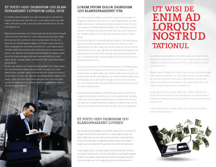 Insight Brochure Template, Inner Page, 03572, Business Concepts — PoweredTemplate.com