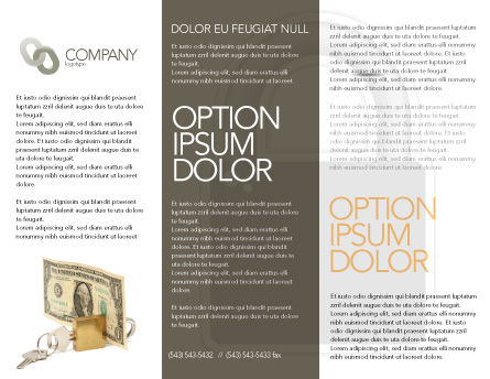 Money Savings Brochure Template Inner Page