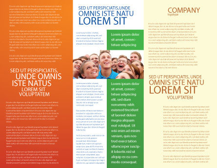 Questionnaire Brochure Template Inner Page