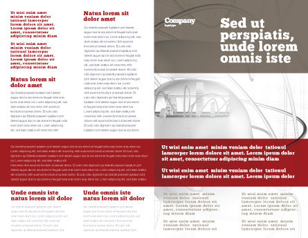 Cybernetician Brochure Template Inner Page