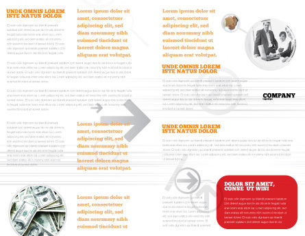 Dollar Safe Brochure Template Inner Page