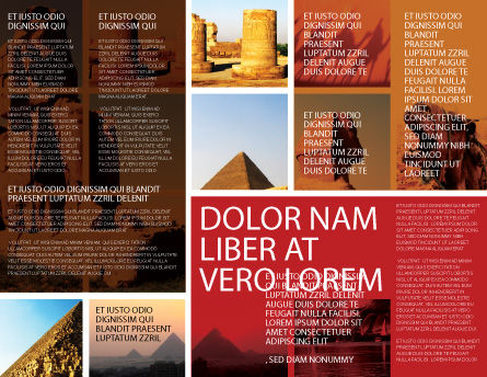 Traveling Brochure Template Inner Page