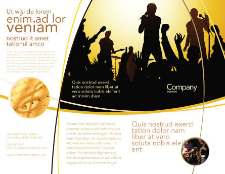 Ensemble Brochure Template Outer Page