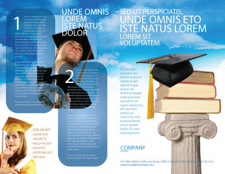 University Education Brochure Template Design And Layout Download