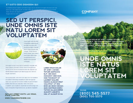 Landscape Brochure Template Design And Layout Download Now
