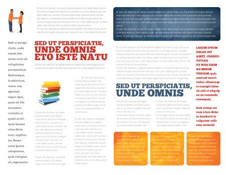 School Word Brochure Template, Inner Page, 03693, Education & Training — PoweredTemplate.com