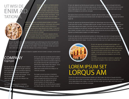 Coliseum Brochure Template Inner Page