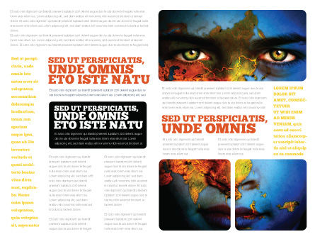 Eyes of Earth Brochure Template, Inner Page, 03807, Nature & Environment — PoweredTemplate.com