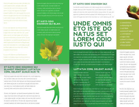 Eco-World Brochure Template, Inner Page, 03820, Nature & Environment — PoweredTemplate.com