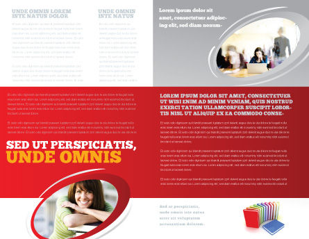 Excellent Grade Brochure Template, Inner Page, 03851, Education & Training — PoweredTemplate.com
