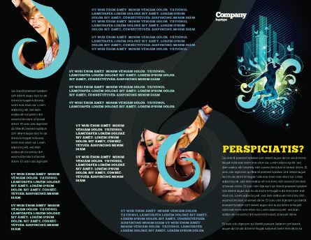 Night City Life Brochure Template, Inner Page, 03856, Art & Entertainment — PoweredTemplate.com