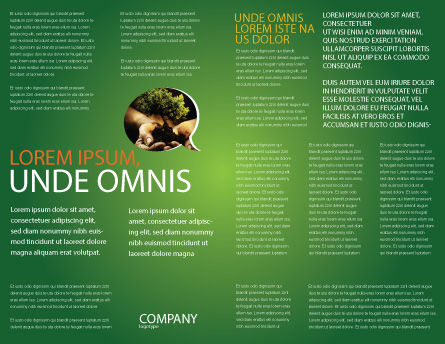 Green Planet Brochure Template, Inner Page, 03867, Nature & Environment — PoweredTemplate.com