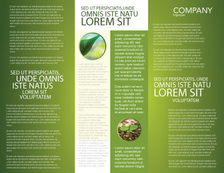 New Sprout Brochure Template, Inner Page, 03899, Nature & Environment — PoweredTemplate.com