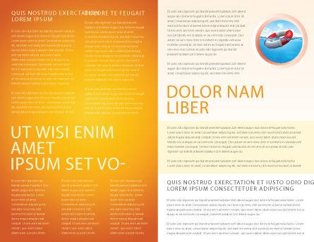 Ropewalker Brochure Template, Inner Page, 03913, Business Concepts — PoweredTemplate.com