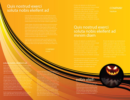 Halloween is Near Brochure Template Inner Page