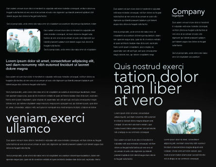 Major Surgery Brochure Template, Inner Page, 03979, Medical — PoweredTemplate.com